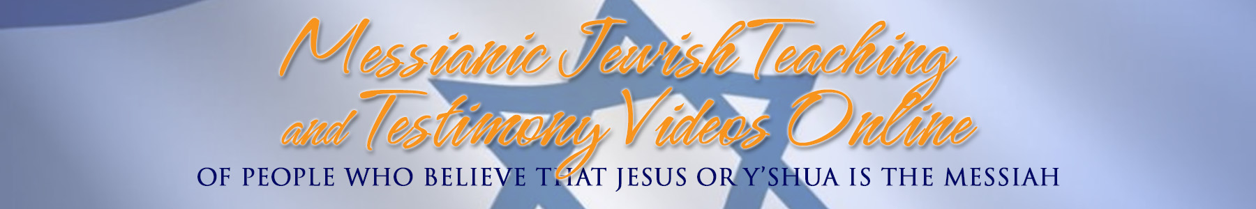 Jesus For Jews Videos